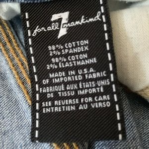 7 For All Mankind Jeans - 7 FAM ankle length jeans size 30